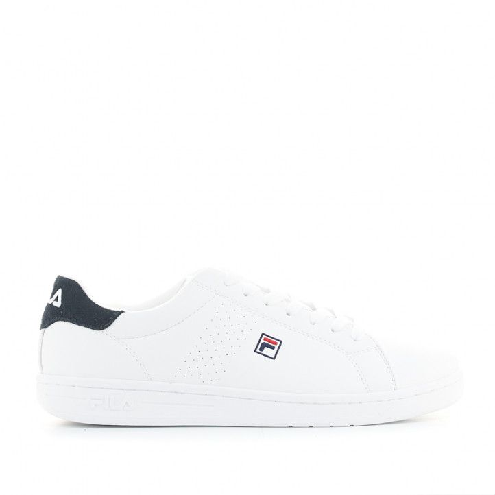 Zapatillas deportivas Fila crosscourt 2 f low blancas - Querol online