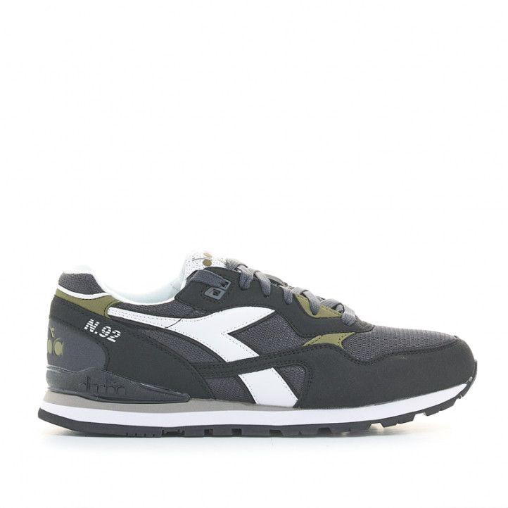Zapatillas deportivas Diadora tenis n.92 negras - Querol online
