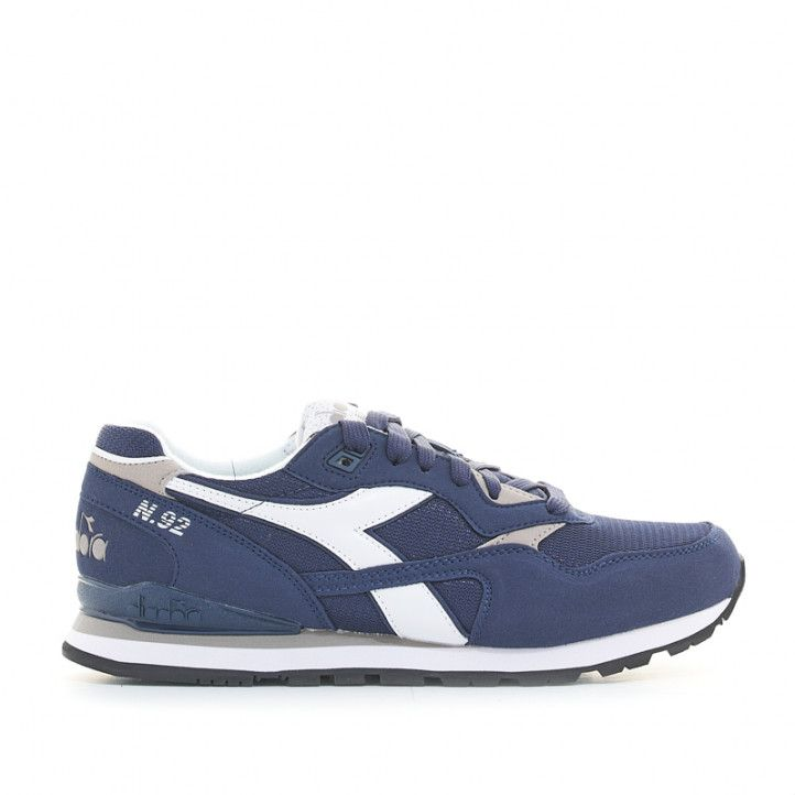 Zapatillas deportivas Diadora tenis n.92 azules - Querol online