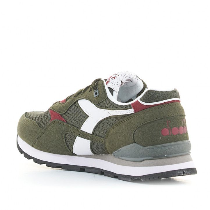 Zapatillas deportivas Diadora tenis n.92 verdes - Querol online