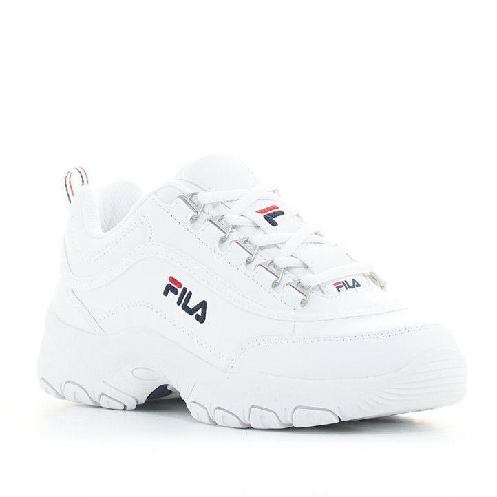 Zapatillas deporte Fila strada low blancas - Querol online