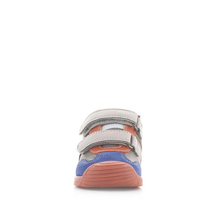 Botines Biomecanics de piel grises, azules, naranjas y rojas - Querol online