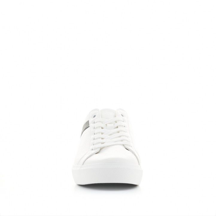 Sabatilles esportives Levi's blanques amb franja negra - Querol online
