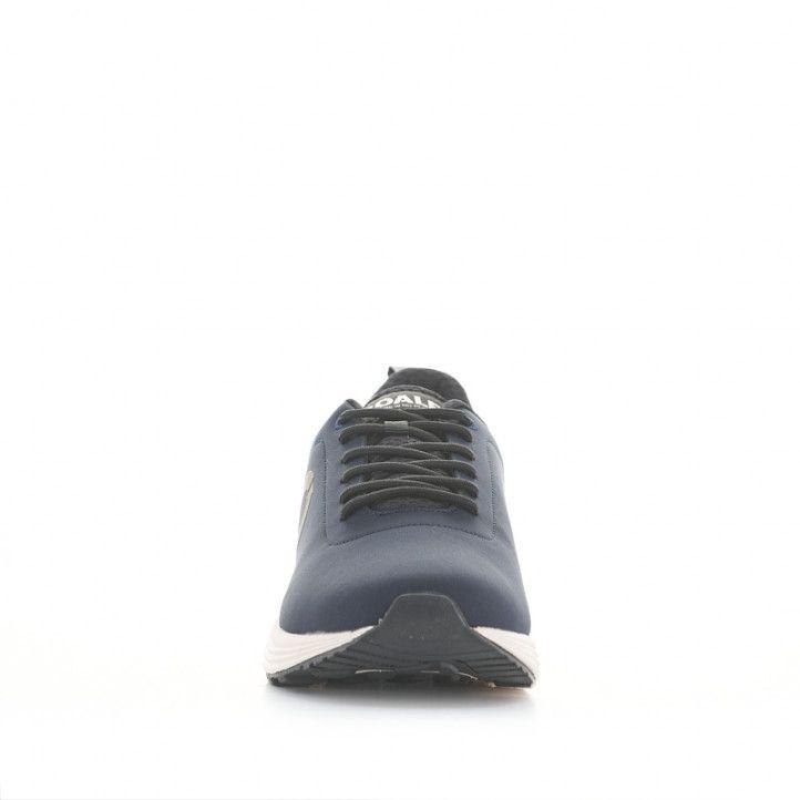 Sabatilles esportives ECOALF blaves amb cordons negres i sola blanca - Querol online