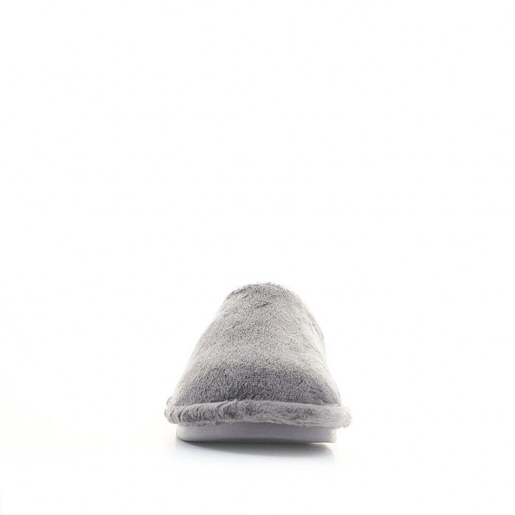 Sabatilles casa Laro grises de pèl - Querol online