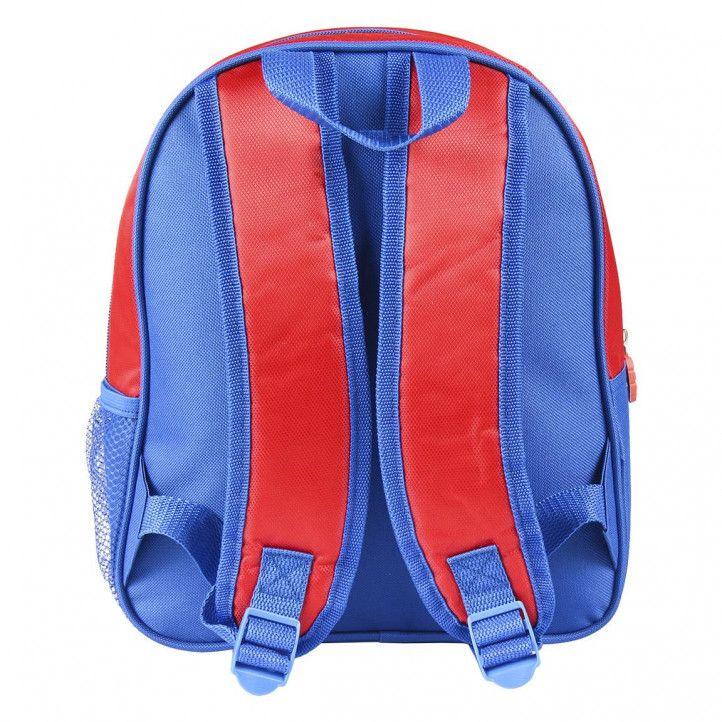 Motxilla Cerda spiderman 3d vermella i blava metal·litzats - Querol online