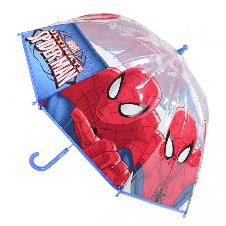 Paraguas Cerda spiderman azul y rojo - Querol online
