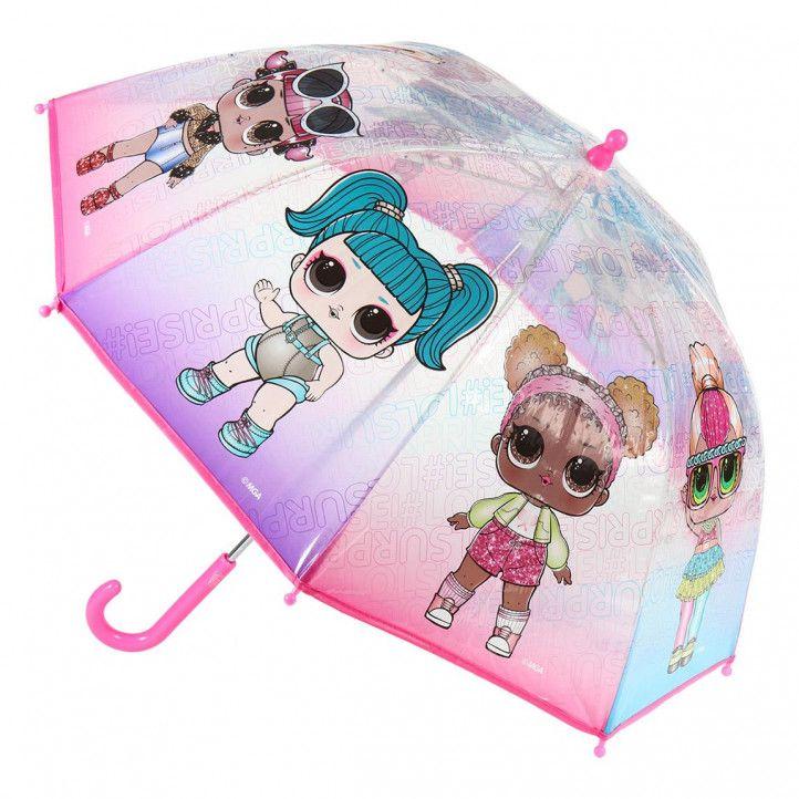Paraigües Cerda lol rosa, lila i blau - Querol online