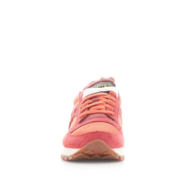 Zapatillas deportivas SAUCONY jazz original vintage rojas - Querol online